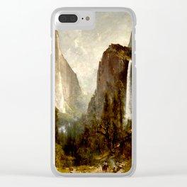 Bridal Veil Falls, Yosemite Valley 1892 Clear iPhone Case