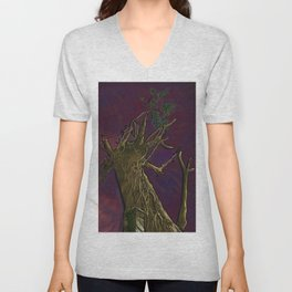 Tree of Knowledge Unisex V-Neck