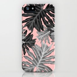 Philo Hope - Tropical Jungle Leaves Pattern #3 #tropical #decor #art #society6 iPhone Case