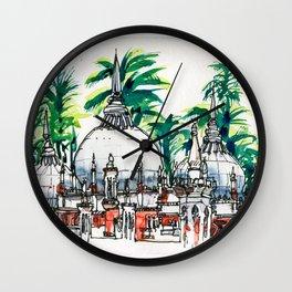 20161022 Masjid Jamek MALAYSIA Wall Clock