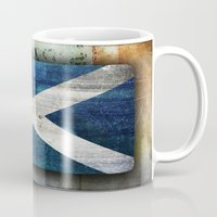 scotland Mugs featuring Scotland by Arken25