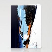 porsche Stationery Cards featuring PORSCHE 917 -  by Michele Leonello