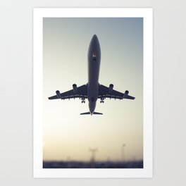 Flight5 Art Print