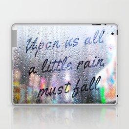 Rainy window Laptop & iPad Skin