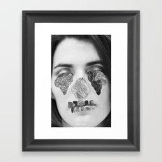Immune To Emotion  Framed Art Print