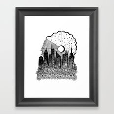 These Troubled Times Framed Art Print