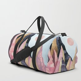 Mauve Peaks Duffle Bag