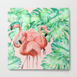 Flamingo Ivelin Metal Print