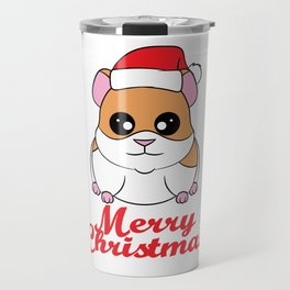 Fan of Guinea Pig and Christmas? Have them both with this cute and adorable tee!  Travel Mug