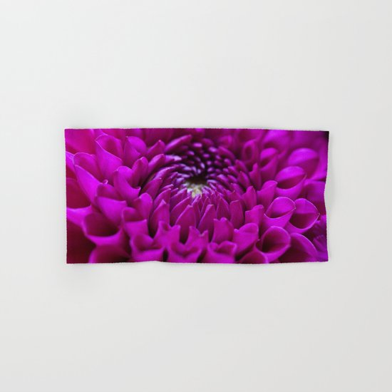Pink Dahlia #1 #art #society6 Hand & Bath Towel