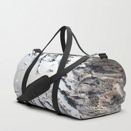 muddy puddle abstract Duffle Bag