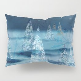 winter night Pillow Sham