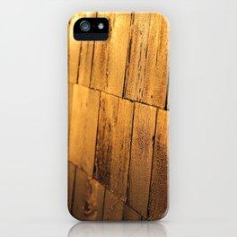 Golden Shingles  iPhone Case