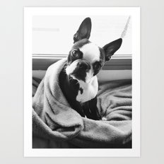 Good morning, human. Art Print