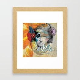 Corazon Framed Art Print