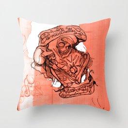 Eterna Belleza Throw Pillow