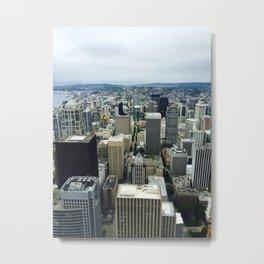 Columbia Center Views Metal Print