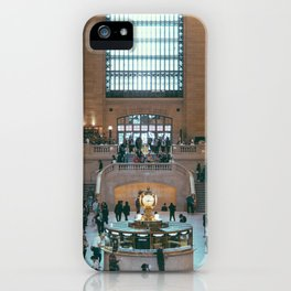 The Amazing Grand Central Station II iPhone Case