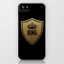 King & Queen (For Him & For Her) iPhone Case