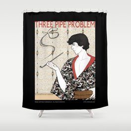 Three Pipe Problem Shower Curtain