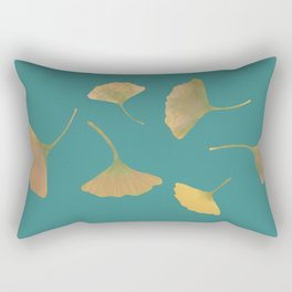 Flying ginkgo Rectangular Pillow