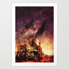 Carry On My Wayward Son Art Print
