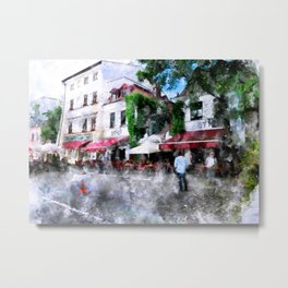 Cracow art 18 #cracow #krakow #city Metal Print