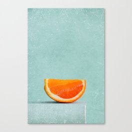 summer in orange II Canvas Print