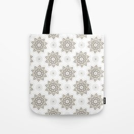 WOLF (white) Skull Pattern Series Tote Bag