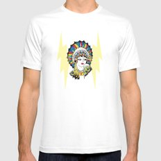 Traditional Tattoo Woman Mens Fitted Tee White MEDIUM