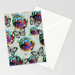 Butterfly Colour Stationery Cards