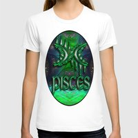 astrology T-shirts featuring Pisces Zodiac Sign Astrology by CAP Artwork & Design