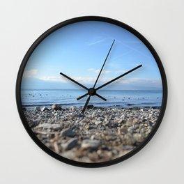 Rocky Beach Descent Wall Clock