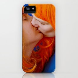kiss (on being single) iPhone Case