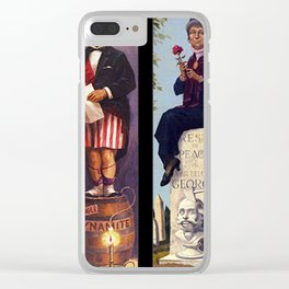 haunted mansion Clear iPhone Case