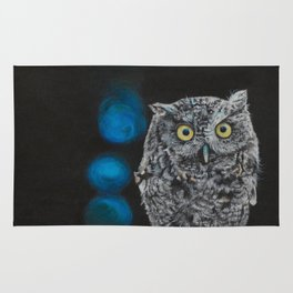 Tuula the Screech Owl by Teresa Thompson Rug