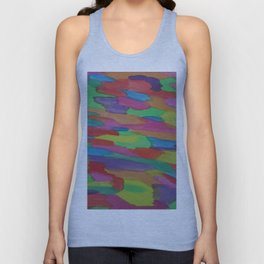 Sugar Rush Candy Colored Abstract Unisex Tank Top