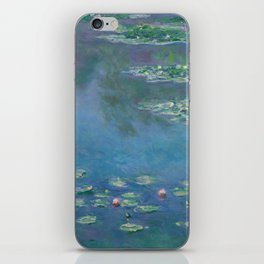 Water Lilies by Claude Monet, 1906 iPhone Skin