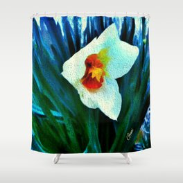 First Jonquil of Spring Shower Curtain