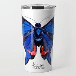 Blue Phoenix Travel Mug
