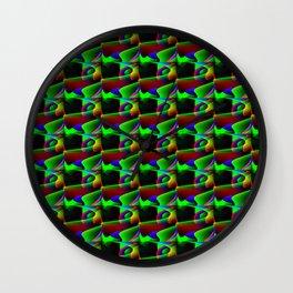 Zig zag pattern Wall Clock