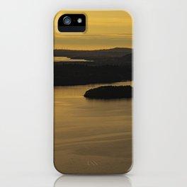Derwentwater sunset iPhone Case