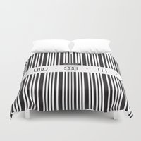 code Duvet Covers featuring Music Code by Sitchko Igor