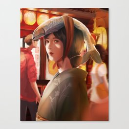 What a Lovely Hat, Miss Canvas Print