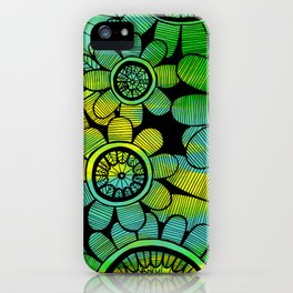 Big Floral 2 iPhone Case