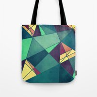 starry night Tote Bags featuring Starry Night by VessDSign