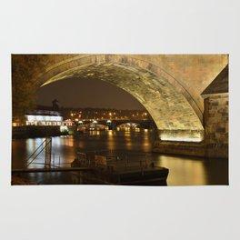 Under the Charles Bridge Rug