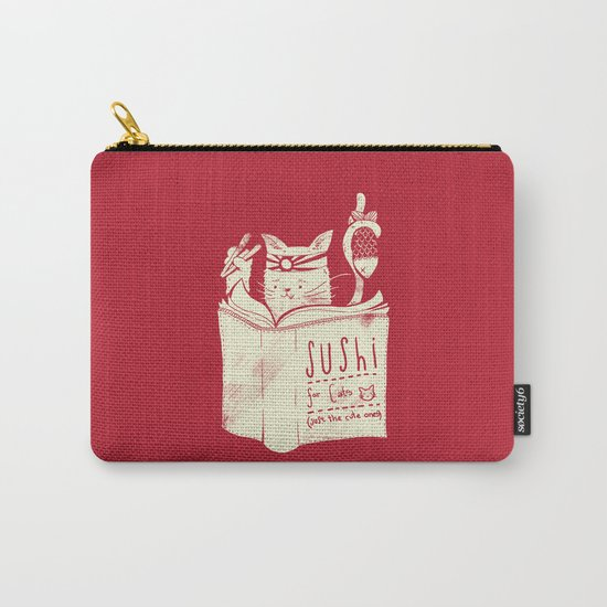 Sushi for Cats Carry-All Pouch