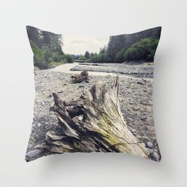 Stoney Creek Driftwood Throw Pillow