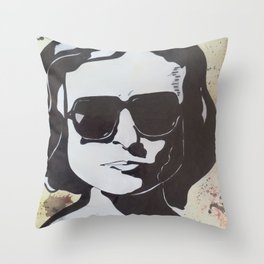 Joan Didion: Slouching Towards Bethlehem Throw Pillow